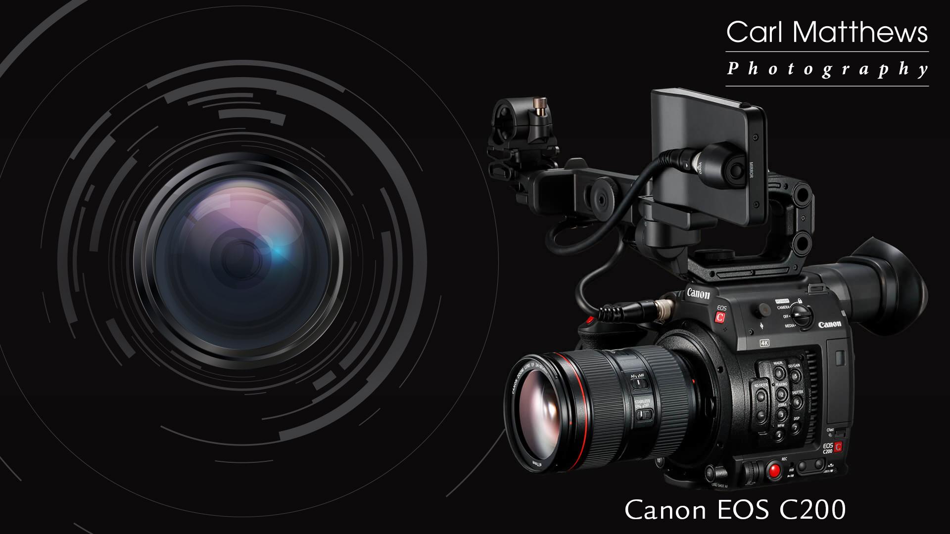 Canon EOS C200 Video Camera